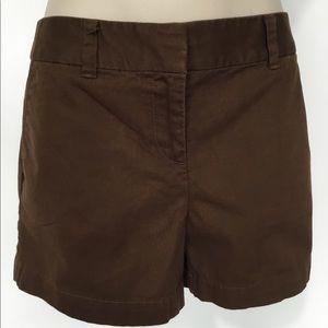 Ann Taylor Loft Straight Shorts Sz 4 UEC